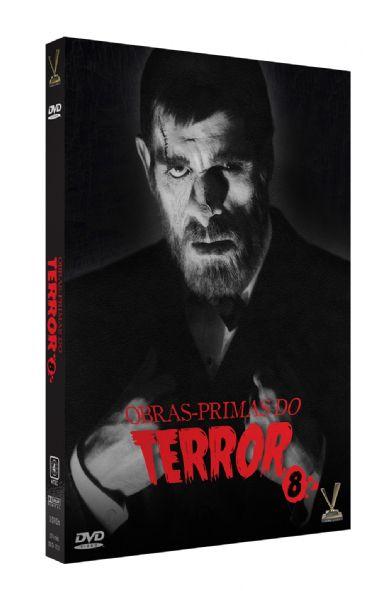 DVD Obras-primas do Terror Vol. 8 ( 3 Discos )