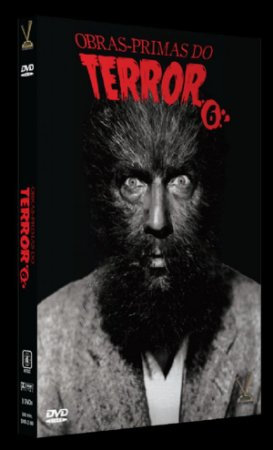 DVD Obras-primas do Terror Vol. 6 (3 DVDs)
