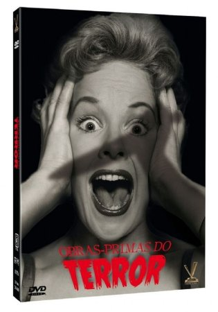 DVD Obras-primas do Terror Vol. 1 (3 DVDs)