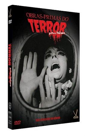 DVD Obras-Primas do Terror - Gótico Italiano - ( 3 Discos )