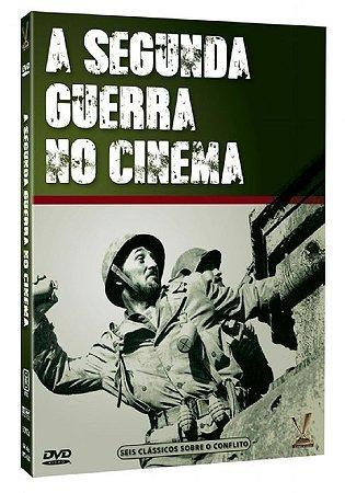 DVD A Segunda Guerra no Cinema - ( 3 Discos )