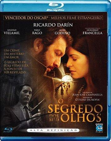 Blu Ray O segredo dos Seus Olhos - Ricardo Darin