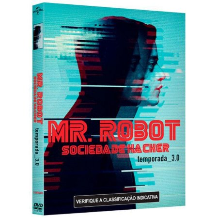 DVD - Mr Robot: Sociedade Hacker - 3ª Temporada
