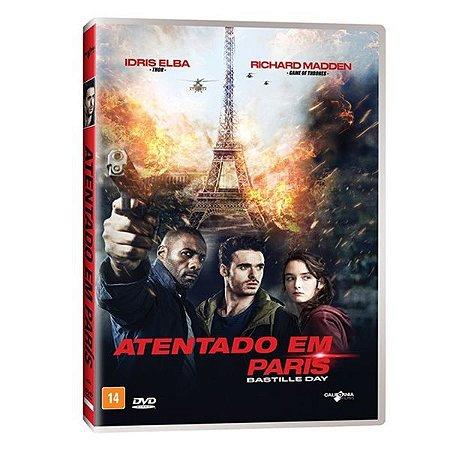 DVD Atentado Em Paris - Idris Elba