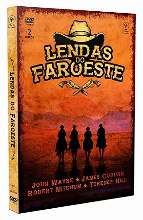 DVD duplo - Lendas do Faroeste
