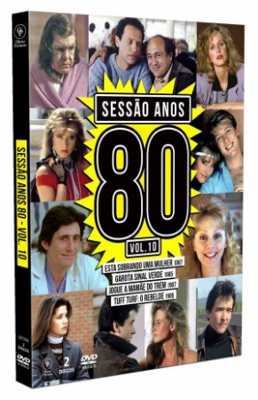 DVD Sessão Anos 80 Vol. 10