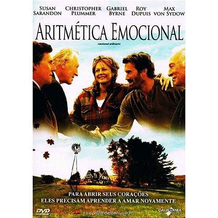 DVD - Aritmética Emocional - Susan Sarandon