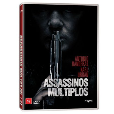 DVD - Assassinos Múltiplos - Antonio Banderas