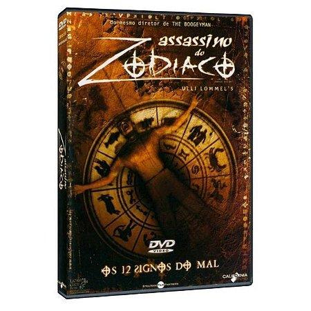 DVD Assassino do Zodíaco