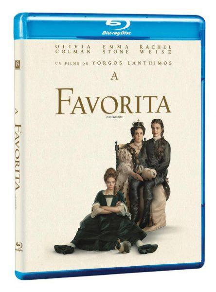 Blu-ray - A Favorita -  Emma Stone