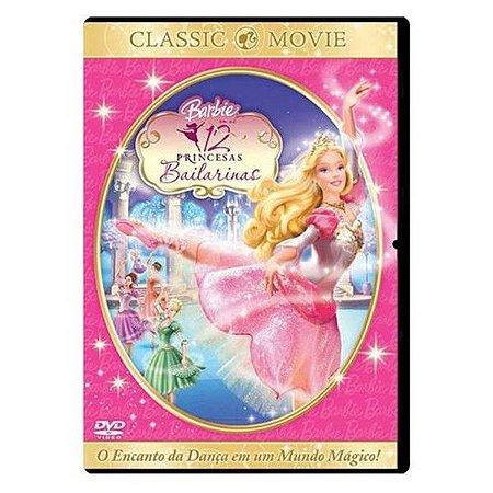 DVD Barbie - As 12 Princesas Bailarinas