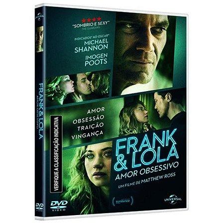 DVD - Frank & Lola: Amor Obsessivo - Michael Shannon