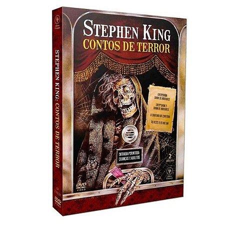 DVD Stephen King - Contos De Terror - 2 Discos