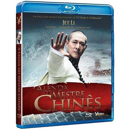Blu-ray - A Lenda do Mestre Chines - Jet Li