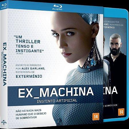 Blu-ray Ex Machina - Instinto Artificial - (EXCLUSIVO COM LUVA)