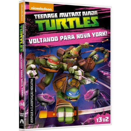 DVD - Tartarugas Ninja - Voltando para Nova York!