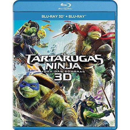 Blu-Ray + Blu-Ray 3d - As Tartarugas Ninja - Fora Das Sombras