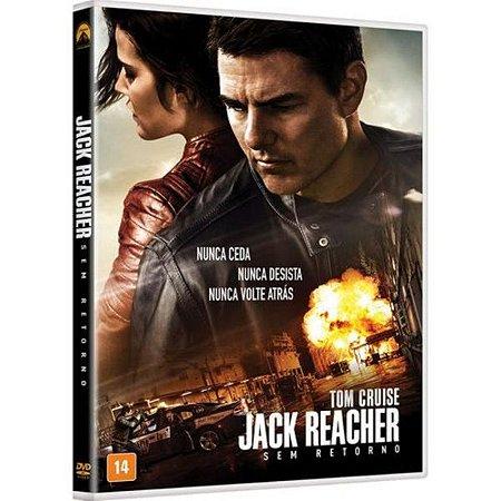 DVD - Jack Reacher 2 - Sem Retorno