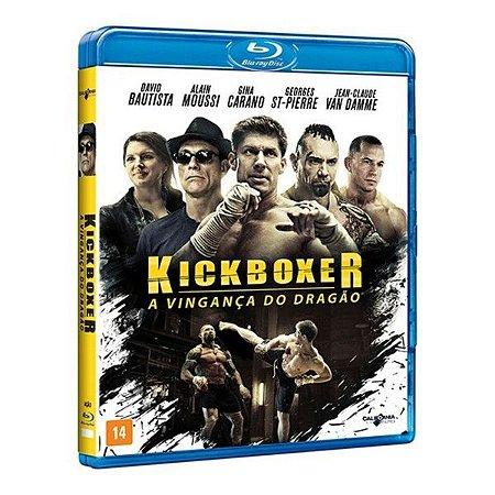 Blu Ray Kickboxer A Vingança do Dragão - Van Damme