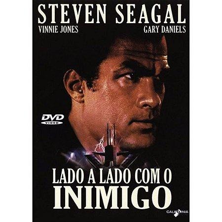 DVD - Lado a Lado Com o Inimigo - Steven Seagal