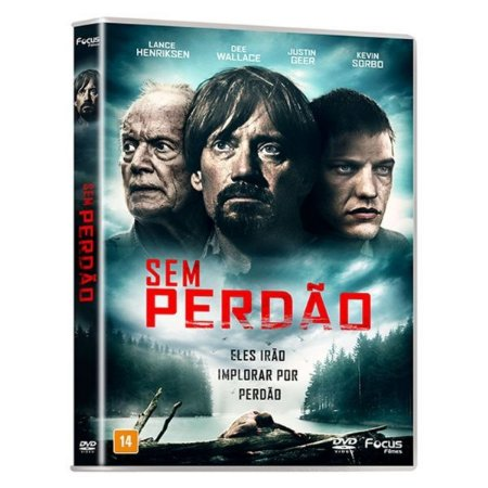 DVD Sem Perdão - Justin Geer - Kevin Sorbo
