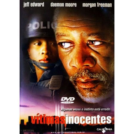 DVD - Vítimas Inocentes - Morgan Freeman