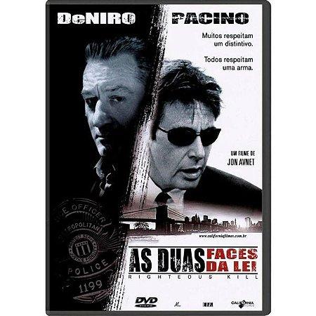 DVD As Duas Faces Da Lei - Robert DeNiro - Al Pacino