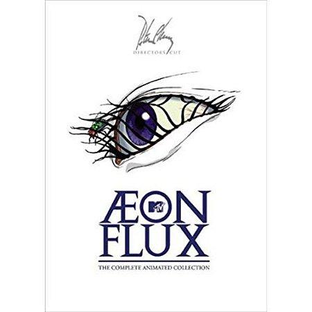 Box Dvd Aeon Flux - Coleção Completa - 3 Dvds