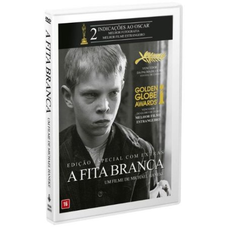 DVD - A FITA BRANCA  Ed. Dupla - imovision