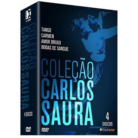 Dvd Coleção Carlos Saura - (4 Dvds)