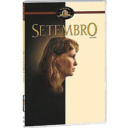 DVD Setembro - Woody Allen - (SLIM)