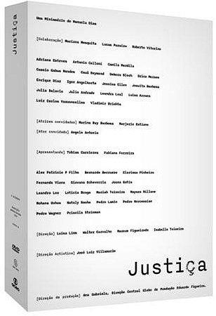 Dvd Box Justiça ( 6 Discos ) - SOM LIVRE