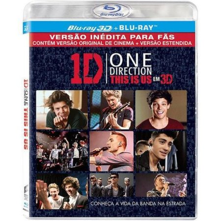 Blu-Ray 3D One Direction - This Is Us