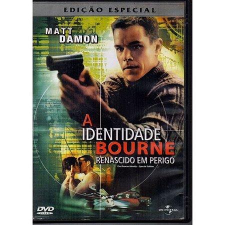 DVD - A Identidade Bourne: Renascido em Perigo