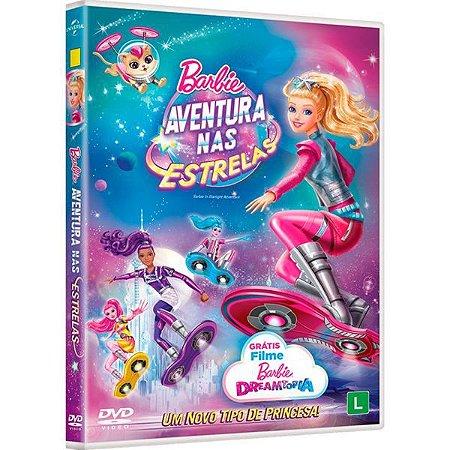 DVD Barbie Aventura Nas Estrelas
