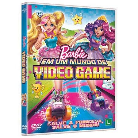 DVD Barbie em um Mundo de Video Game