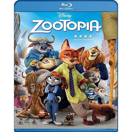 Blu-ray - Zootopia - Disney