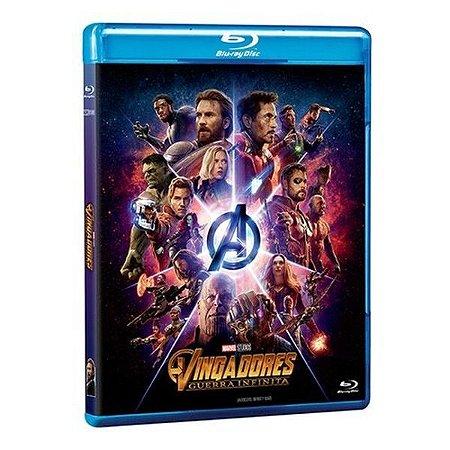 Blu-Ray - Vingadores: Guerra Infinita