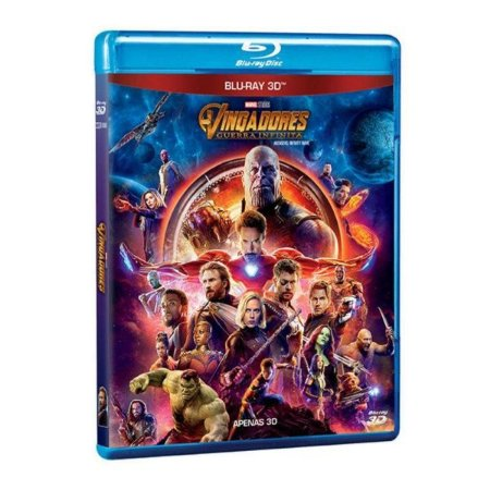 Blu-Ray 3D - Vingadores: Guerra Infinita
