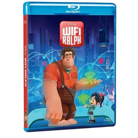 Blu-Ray - Wifi Ralph - Disney