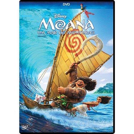 Dvd Moana - Um Mar De Aventuras