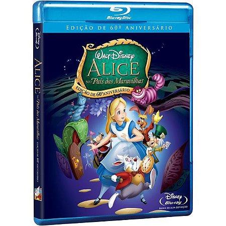 Blu-Ray - Alice no País das Maravilhas: Ed 60º Aniversario