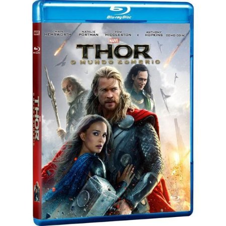 Blu-Ray Thor - O Mundo Sombrio
