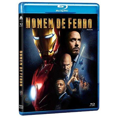 Blu-Ray - Homem de Ferro - Iron Man