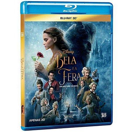 Blu-ray 3d - A Bela E A Fera - 2017