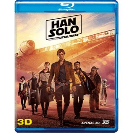 Blu-Ray 3D Han Solo - Uma História Star Wars
