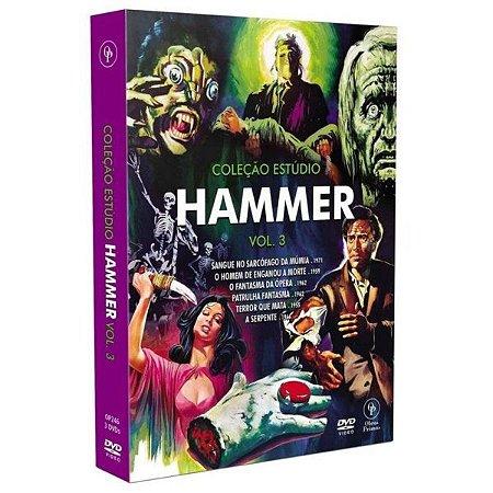 DVD Coleção Estúdio Hammer - Vol.3