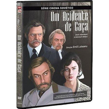 DVD Um acidente de caça - Galina Belyaeva