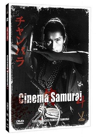 Dvd Box Cinema Samurai Vol. 4 (3 DVDs)