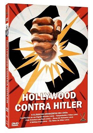 Dvd Box Hollywood Contra Hitler (3 DVDs)